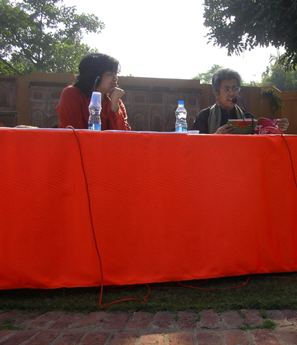 Sampurna reading at Bookaroo