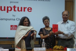 Eminent author Keki Daruwalla launches 'Rupture'