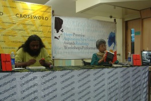 Reading from 'Rupture' in Bangalore