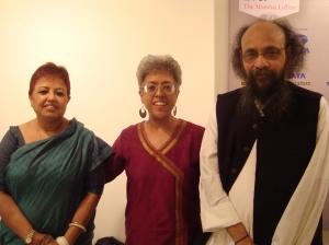 With Joyda and his wife Kaberidi