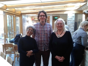 With Gillian Clarke and Jonathan Edwards
